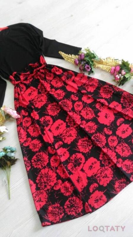 8a6930b0b ملابس نسائية فساتين صناعة تركية ب35 ريال جملة   Loqtaty